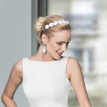 Bridal jewelery, Sky lange-Ford, wedding, Hairdoo, Bride, Sky is no limit, Aliceband, Foto: Lohrengel