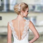 Brautfrisur, Brautschmuck: Sky Lange-Ford, Papillon - pearl Butterfly, Foto: Lohrengel